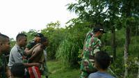 Warga Timor Leste ditangkap saat mencuri ternak (Liputan6.com / Ola Keda)