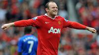 7. Wayne Rooney (Manchester United) - 33,3 Juta Pounds. (AFP/)