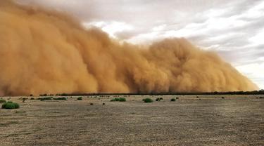 Dahsyatnya Badai Debu Saat Landa Australia