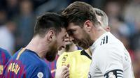 Kabar merapatnya Lionel Messi ke Paris Saint-Germain (PSG) semakin berhembus kencang. Menurut informasi yang beredar, pihak La Pulga sudah sepakat dengan tawaran yang diajukan Les Parisiens. (Foto: AFP/Curto De La Torre)
