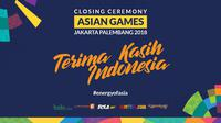 Closing Ceremony Asian Games 2018. (Bola.com/Dody Iryawan)