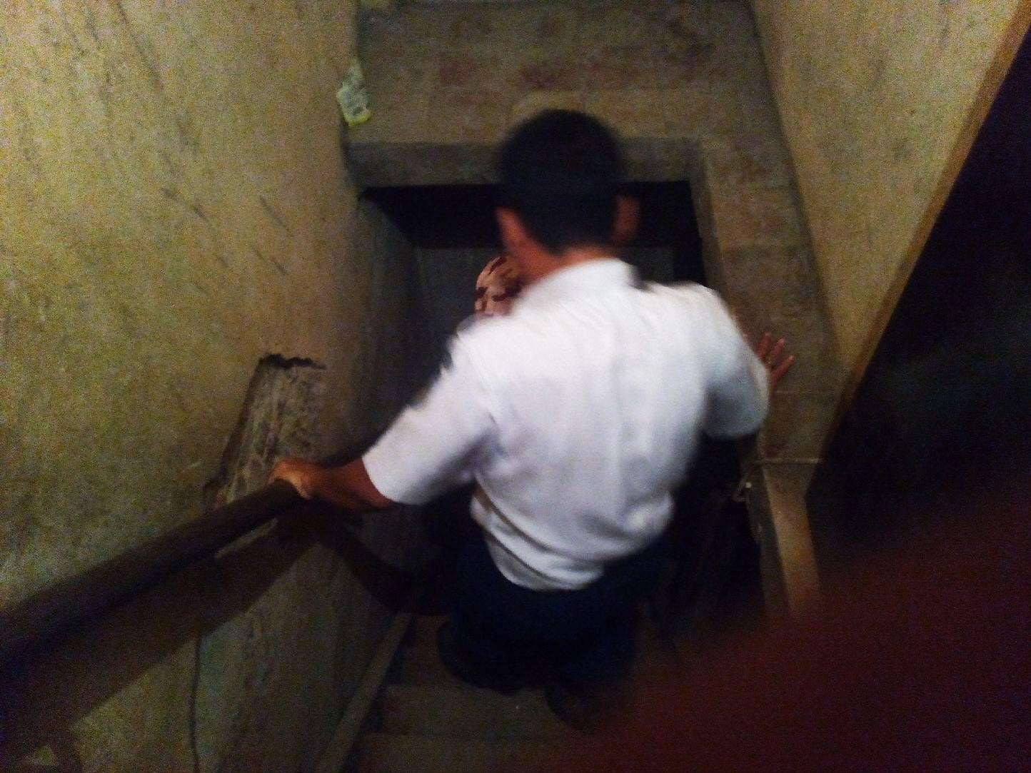 Lorong bawah tanah Gedung Lawangsewu, Kota Semarang Jawa Tengah. (Edhie Prayitno Ige/Liputan6.com)