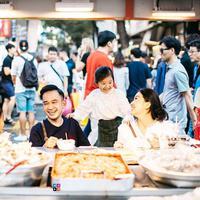 Ruben Onsu dan keluarga di Korea (Instagram/ruben_onsu)