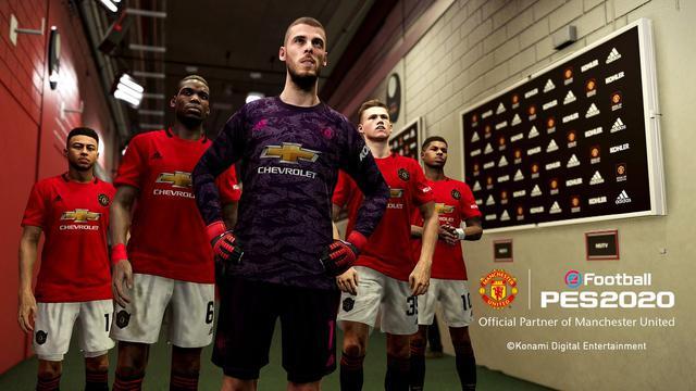 Rating Pemain Manchester United Di Pes 2020 E Sports Bola Com