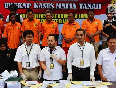 Polisi Ringkus 19 Tersangka Kasus Mafia Tanah di Jakarta dan Bekasi