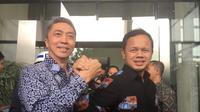 Pasangan calon Wali Kota dan Wakil Wali Kota Bogor Bima Arya Sugiarto-Dedie A.