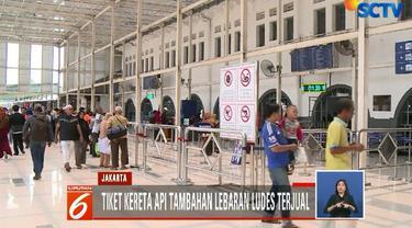 Padahal, PT KAI menambah delapan perjalanan menuju ke berbagai rute, seperti Blitar, Malang, Surabaya, Kutoarjo, Cirebon, dan Semarang.