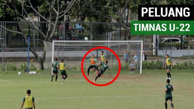 Berita video para pemain Timnas Indonesia U-22 melakukan internal game dan banyak peluang tercipta yang bikin geregetan orang yang menyaksikannya.