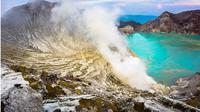 Kabupaten Banyuwangi ditetapkan sebagai salah satu dari kawasan Taman Bumi atau Geological Park (Geopark) Nasional 2018 oleh Komite Geopark Nasional. (Liputan6.com/Dian Kurniawan)