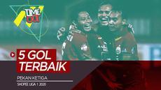 Berita video Time Out kali ini membahas 5 gol terbaik yang tercipta pada pekan ketiga Shopee Liga 1 2020.