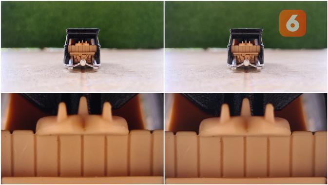 Perbandingan hasil kamera 108MP dan 12MP di Samsung Galaxy S20 Ultra. Liputan6.com/Mochamad Wahyu Hidayat