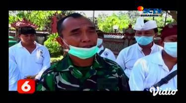 Sejumlah kegiatan ritual di Pura Segara, Kenjeran, Surabaya menjelang Hari Raya Nyepi dibatalkan hal ini dilakukan pengurus pura setelah mendapatkan surat himbauan dari Pemkot Surabaya terkait pencegahan virus corona.