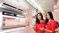 PT. LG Electronics Indonesia memperkenalkan AC inverter LG DUALCOOL with Watt Control.