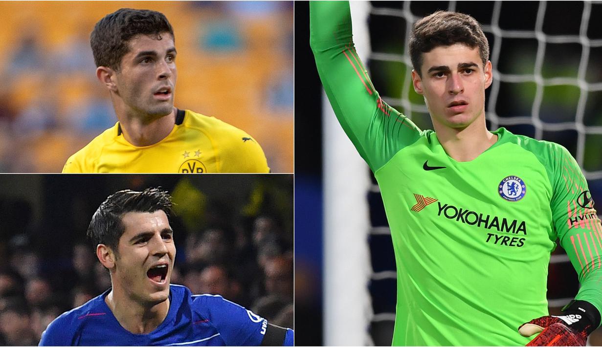 Sejak kedatangan Roman Abramovic, Chelsea dikenal jor joran dalam membeli pemain dan berhasil mendapatkan banyak trofi. Kesuksesan tersebut tak terlepas dari kemampuan mereka mendatangkan pemain dengan harga mahal. (Kolase Foto AFP)