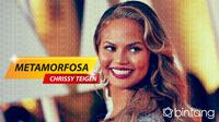 Metamorfosa Chrissy Teigen (Foto: AFP/Digital Imaging: Nurman Abdul Hakim)
