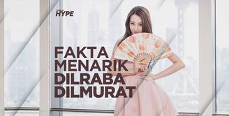 Lebih Dekat dengan Dilraba Dilmurat, Perempuan Tercantik Se-Asia