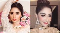 Potret keakraban penyanyi dangdut antara Dewi Persik dan Uut Permatasari. (Sumber: Instagram/@dewiperssikreal/@uutpermatasari)