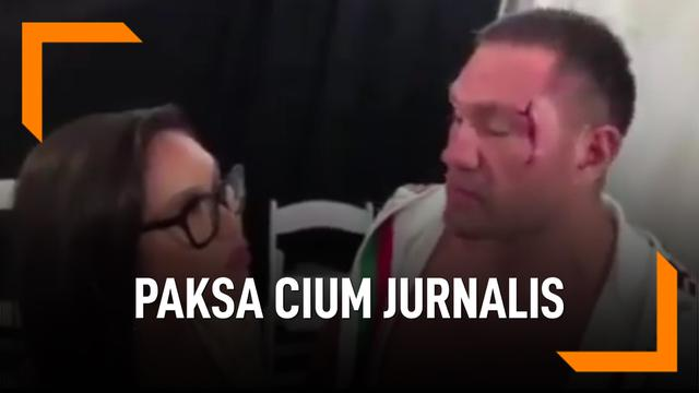 Paksa Cium Jurnalis, Petinju Kubrat Pulev Dituntut