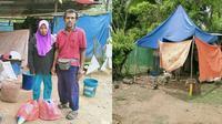 Tinggal di Tenda Kecil, Ayah Ini Bisa Besarkan 3 Anak Hingga Sarjana (Sumber: Facebook/Bro Misai)