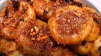 Cipak koceak, makanan dari Garut, Jawa Barat, yang sedang viral (dok.YouTube/Ahza Kitchen)