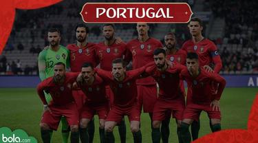 Profil Tim Piala Dunia 2018, Portugal