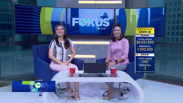 Sajian berita kriminal dan peristiwa menarik terangkum dalam Fokus Pagi sebagai berikut, Hujan Angin Terjang Kota Bogor, Pesawat Membawa Sembako Tergelincir, Video Dangdutan Viral, Bupati Blora Minta Maaf,  Vanessa Angel Dituntut 6 Bulan Penjara.