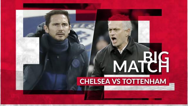 Berita Video Prediksi Bigmatch Chelsea Vs Tottenham Hotspur, Jose Mourinho Wajib Benahi Lini Depan