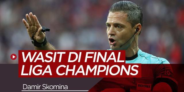 Video Mengenal Skomina Wasit Final Liga Champions Tottenham Vs Liverpool Dunia Bola
