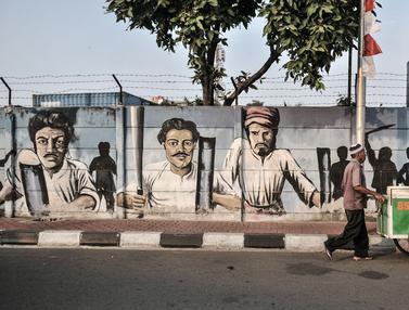 Mural Perjuangan Kemerdekaan Republik Indonesia