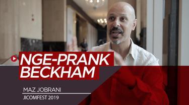 Berita video komedian internasional di JICOMFEST, Maz Jobrani, bercerita tentang pengalamannya mengerjai legenda Timnas Inggris dan Manchester United, David Beckham, di James Corden Show.