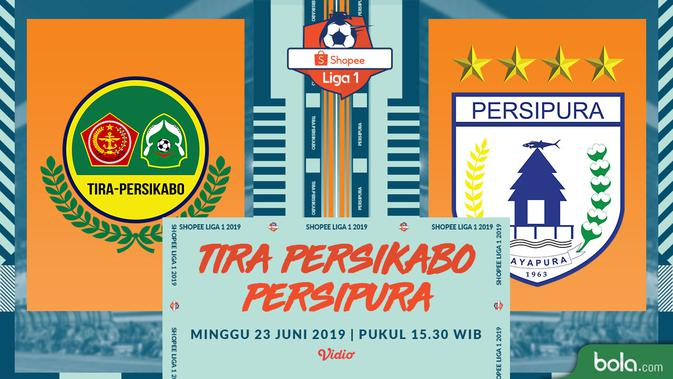 Live Streaming Shopee Liga 1 2019: Tira Persikabo vs Persipura di Vidio 5