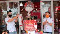 Chef Devina Hermawan dan Wowteg Luncurkan Menu Nasi Bungkus Kekinian. foto: istimewa