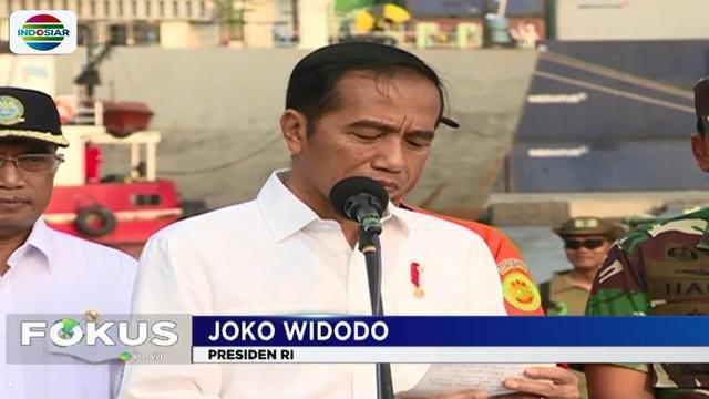 Presiden Jokowi mendapatkan pemaparan proses pencarian dan evakusi pesawat serta korban dari masing-masing pihak.