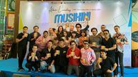 Jumpa pers peluncuran album kompilasi 'Musikini Superhits'.
