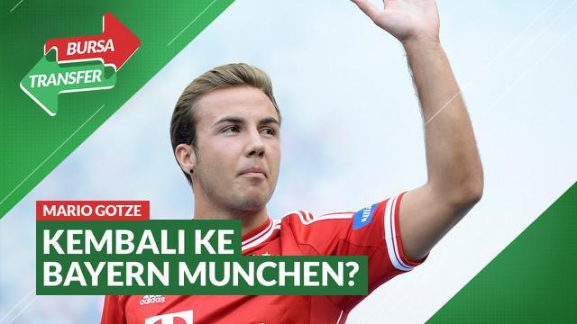 Berita Video Dapat Telepon dari Hansi Flick, Mario Gotze Bakal Kembali ke Bayern Munchen?