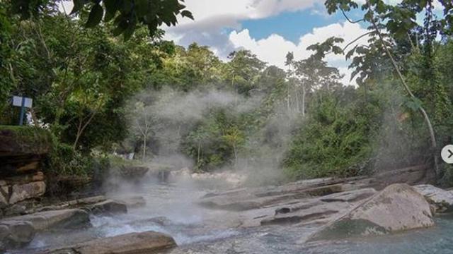 Sungai Mendidih di Amazon
