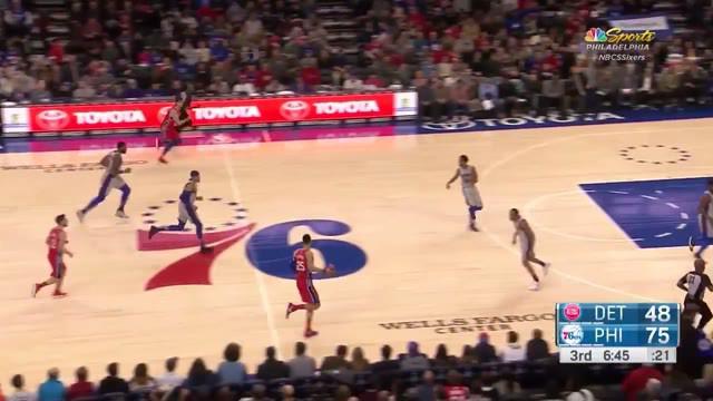 Berita Video Kumpulan Aksi Slam Dunk Terbaik Poin Guard Philadelphia 76ers, Ben Simmons di NBA