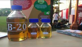 Peluncuran perluasan penerapan Biodiesel 20 persen (Foto:Liputan6.com/Ilyas I)