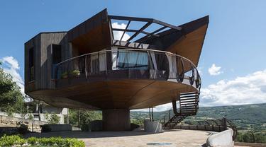 Desain Rumah yang Bisa Berputar 360 Derajat