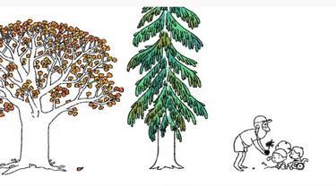 Tangkapan layar Google Doodle Hari Bumi 2021, yang menunjukkan penyandang disabilitas