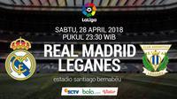 La Liga Real Madrid Vs Leganes (Bola.com/Adreanus Titus)