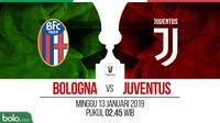 Coppa Italia Bologna Vs Juventus (Bola.com/Adreanus Titus)