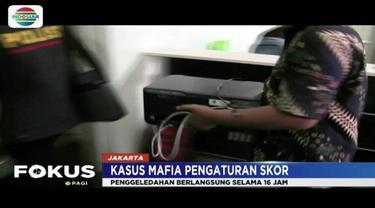Satgas Antimafia Bola geledah kantor PT Liga Indonesia sepanjang Jumat (1/2) hingga Sabtu dini hari.