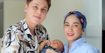 Ussy Sulistiwaty dan Andhika Pratama semakin berbahagia atas kehadiran anak laki-lakinya, Sakalingga Ibra Pratama. Setelah melahirkan pada 1 September 2020 lalu, kini  Ussy pun menjalani tugasnya sebagai ibu menyusui. (Instagram/ussypratama)