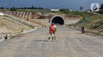 FOTO: Hingga September 2021, Proyek Pembangunan Kereta Cepat Jakarta-Bandung Mencapai 78,6 Persen