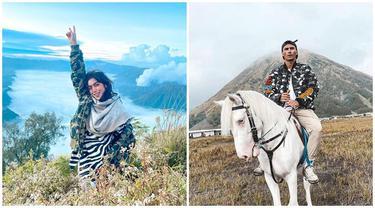Bak Pasangan, Ini 6 Potret Jessica Iskandar dan Vincent Verhaag Liburan di Bromo