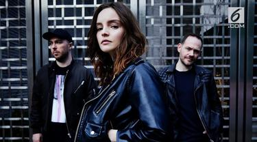 Band asal Skotlandia, Chvrches akan menggelar konser di Jakarta, 25 Juli 2018.