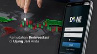 PT Danareksa Sekuritas bekerja sama dengan BRI.