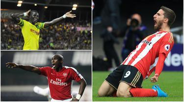 Berikut ini Fabio Borini dan empat transfer pemain yang sempat mengejutkan publik sepak bola (Foto-foto Kolase dari AFP)