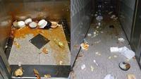 Habiskan Rp 13 Juta, Wanita Ini Lempar Makanan di Sepanjang Apartemen (Sumber: World of Buzz)